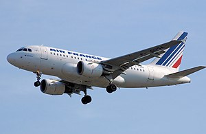Airbus A318 - Airbus A318 in the livery of Air France, the largest operator of the type