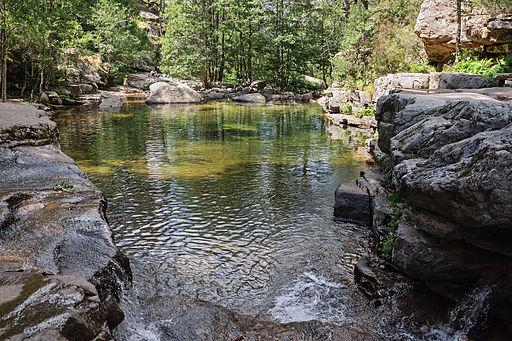 Aitone piscine naturelle Evisa