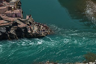 Devprayag - Image: Ajit Hota Birth Place Of Ganges