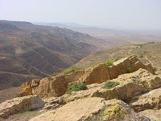 Nafusa Mountains - Image: Al Asabiya 03