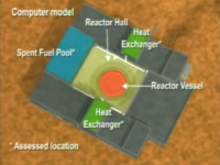 CIA model of alleged Syrian reactor.