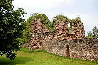 Listed buildings in Alberbury with Cardeston - Image: Alberbury Castle