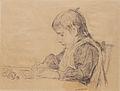 Albert Anker Schreibendes Mädchen.jpg