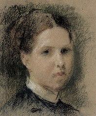 Portrait of Annie Edelfelt