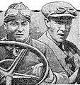 Albert Guyot (D) et Delaunay (G), au Grand Prix de Corse 1921.jpg