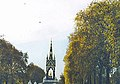 Albert Memorial at the end of a tree lined swath - geograph.org.uk - 1520510.jpg
