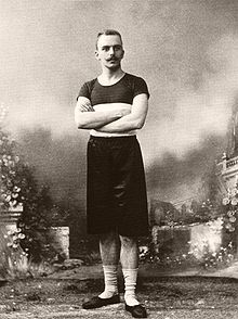 Traun at the 1896 Olympic Games at Athens Albert Meyer 7 Olympia 1896.jpg