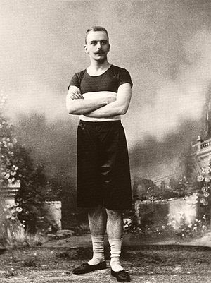 Friedrich Traun - Traun at the 1896 Olympic Games at Athens