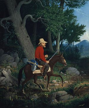 Charles Christian Nahl - Image: Albertus Del Orient Browere 1853, The lone prospector