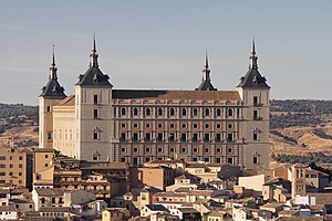 Alcázar of Toledo - The Alcázar of Toledo.