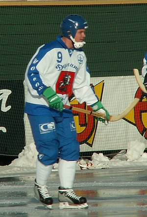 Dynamo Moscow Bandy Club - Alexandr Tyukavin of Dynamo Moscow