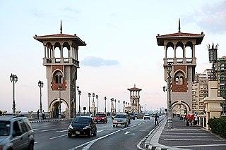 Alexandria Metropolis in Egypt