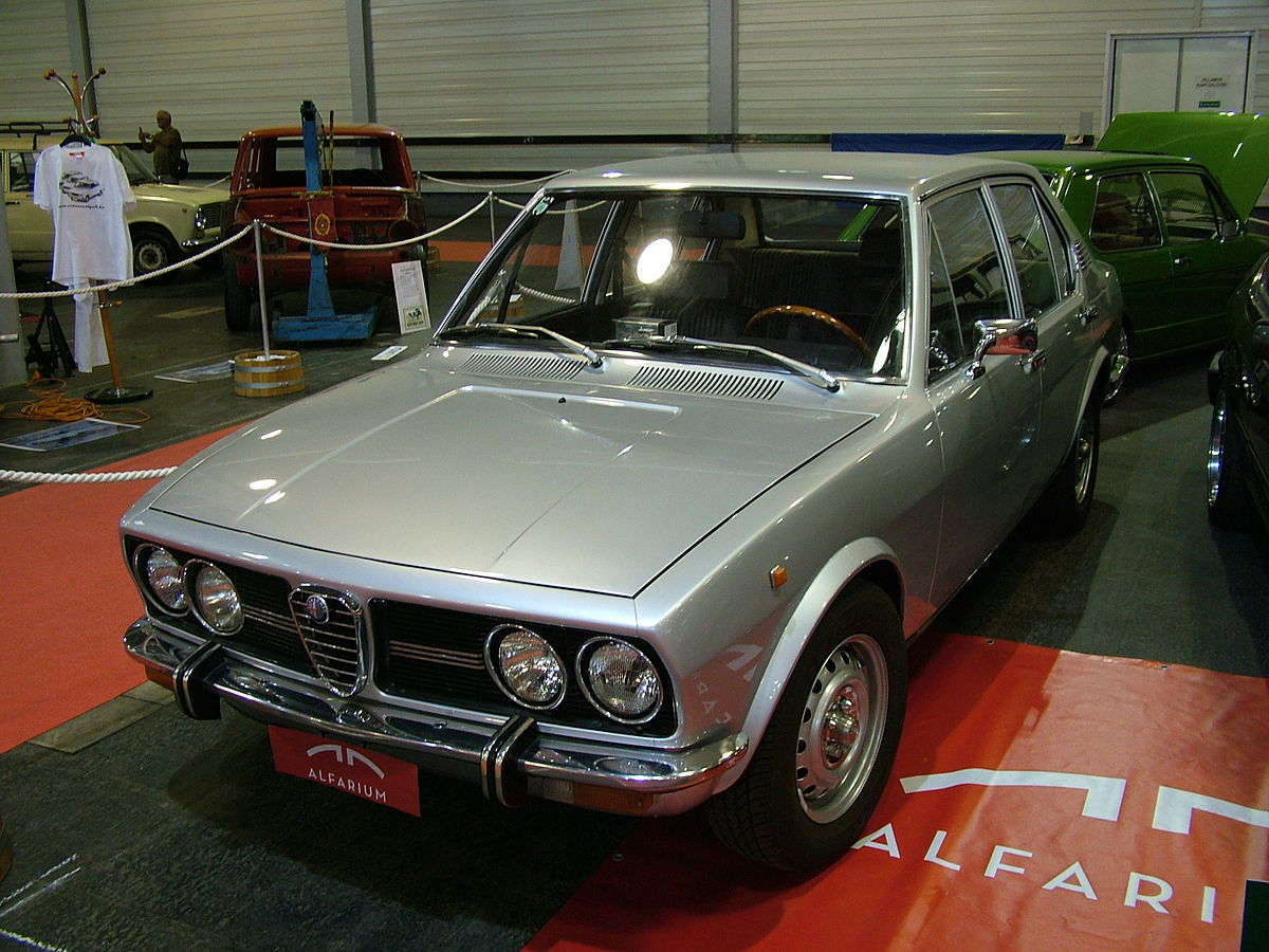 alfa romeo alfetta wikipedia la enciclopedia libre. Black Bedroom Furniture Sets. Home Design Ideas