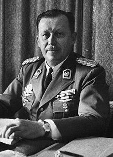 Alfredo Stroessner Paraguayan military dictator