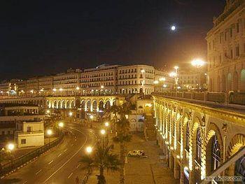 Algiers by night