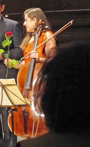Alisa Weilerstein - Image: Alisa weilerstein 2012 ffm 086