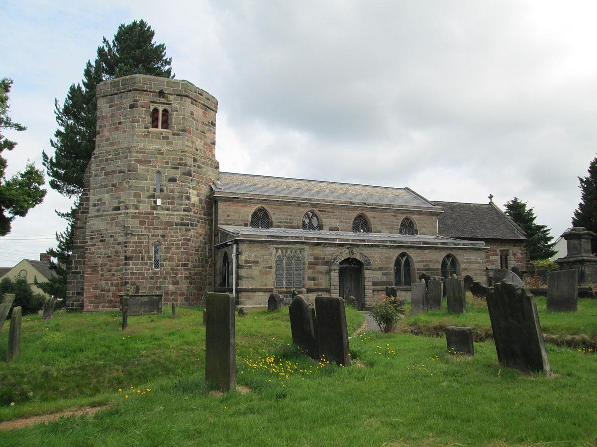 All Saints Church, Dilhorne.JPG