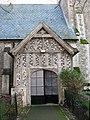 All Saints church - C16 timber framed north porch - geograph.org.uk - 1572168.jpg