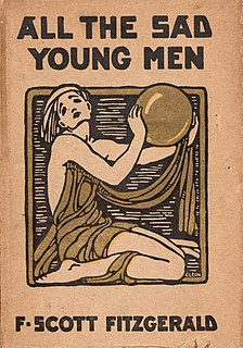 <i>All the Sad Young Men</i> 1926 story collection by F. Scott Fitzgerald