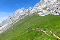 Alpen Wettersteingebirge Felderer Joch Aufstieg2.jpg