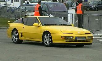 Renault Alpine GTA/A610 - Alpine A610 yellow
