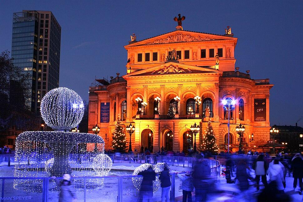 Alte Oper Frankfurt Winter 2008
