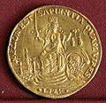 Alvise III mocenigo, osella in oro da 4 zecchini, 1724.jpg