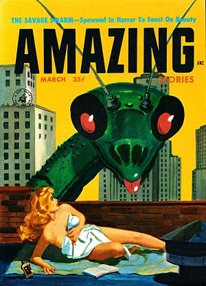 "Harlan Ellison - Ellison's 1957 novelette ""The Savage Swarm"", cover-featured in Amazing Stories, has never been included in an authorized collection or anthology"