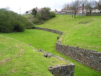 Moridunum (Carmarthen) - Roman amphitheatre at Carmarthen