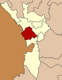 Amphoe location in Tak Province