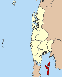 Amphoe location in Phang Nga Province