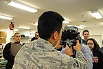 An Airman from the 437th Operations Support Squadron with Florida CAP cadet.jpg