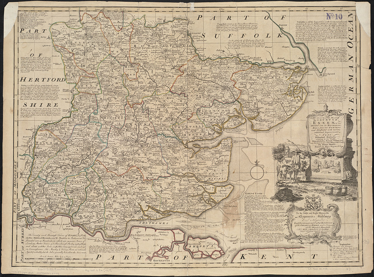 File An accurate map of the county of Essex divided into its hundreds 53853