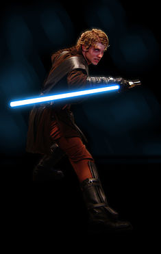 Christensen as Anakin Skywalker