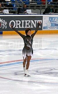 Anastasia Gimazetdinova 2009 Rostelecom Cup.JPG
