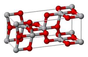 Anatase - Crystal structure of anatase