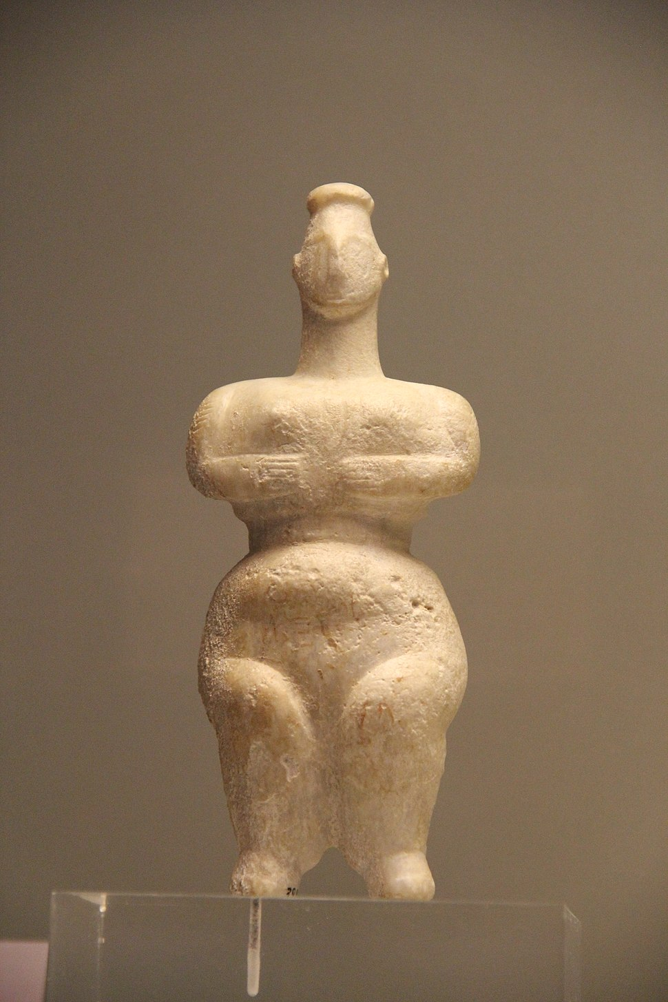 Ancient Greece Neolithic Stone Figurine, 6500-3300 BC