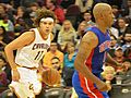 Anderson Varejao and Chauncey Billups (10355742956).jpg