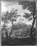Andrea Locatelli (Art des) - Landschaft mit Fluss und Kastell - 6489 - Bavarian State Painting Collections.jpg