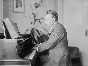 Andreas Dippel - Andreas Dippel at the piano, photographed circa 1908