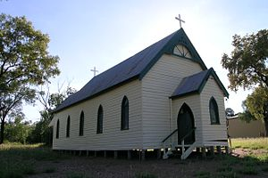 Angledool - A church at Angledool, NSW.