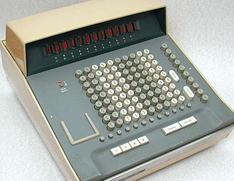 Sumlock ANITA calculator - Close up of an ANITA Mk VIII.