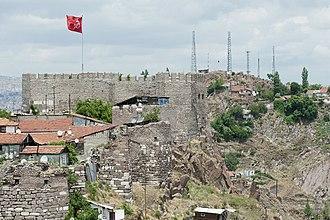 Ankara Castle - Image: Ankara Kale 6762