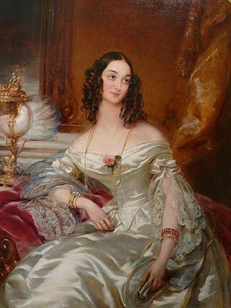 1843 in Russia - Anna Sheremeteva by Robertson