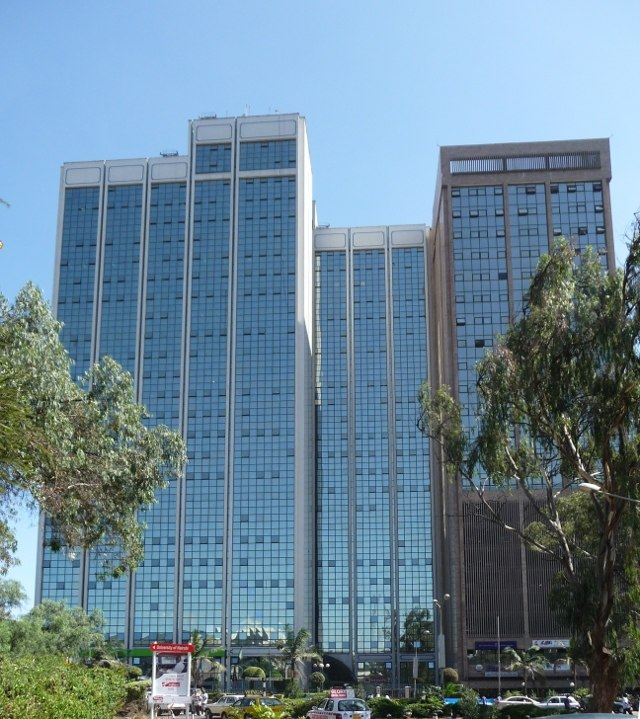 Anniversery towers