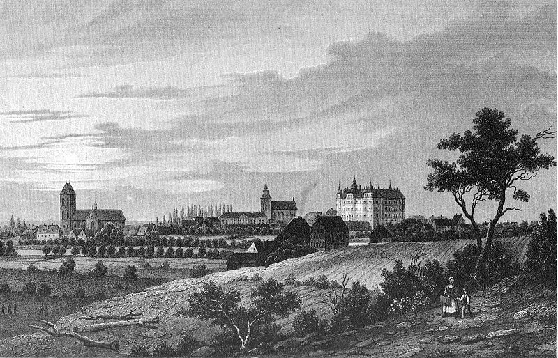 File:Ansicht Guestrow um 1850.jpg