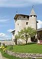 Ansitz Zimmerlehen in Völs am Schlern Haus mit Turm.jpg