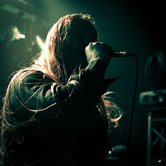Antestor - Ronny Hansen at Blast of Eternity, Neckarsulm, Germany, 2012