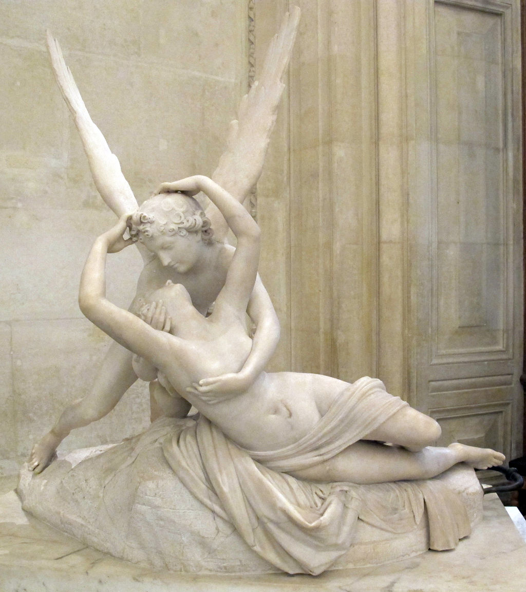 Psyche Revived by Cupid's Kiss by Antonio Canova