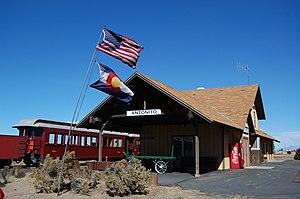 Antonito, Colorado - C&TS terminus in Antonito